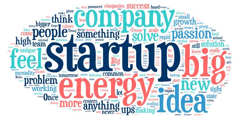 StartupWordCloud
